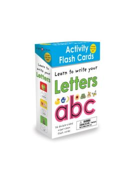 Learn to Write Your Letters - ABC: Activity Flash Cards (Wipe Clean Series)