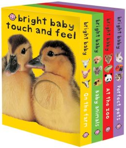 Bright Baby Touch & Feel Slipcase: On the Farm, Baby Animals, At the Zoo and Perfect Pets