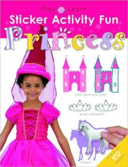 Princess (Play and Learn Sticker Book Series)