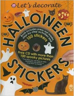 Let's Decorate Halloween Stickers