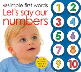 Let's Say our Numbers (Simple First Words Series)