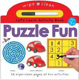 Wipe Clean Activity Puzzle Fun