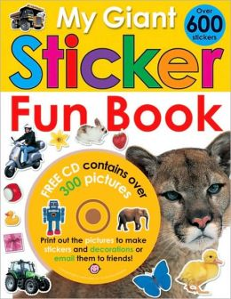 My Giant Sticker Fun Book (with CD)