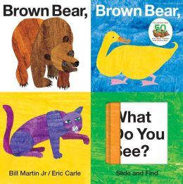 Brown Bear, Brown Bear, What Do You See? Slide & Find