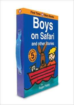 First Time Storybooks Boys on Safari and Other Stories