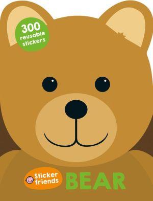 Sticker Friends: Bear