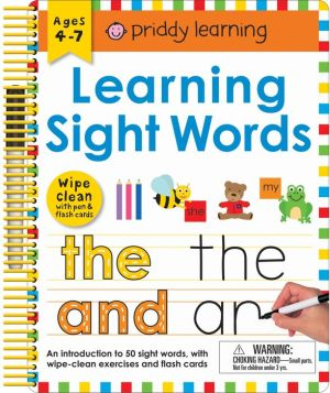 Wipe Clean: Learning Sight Words