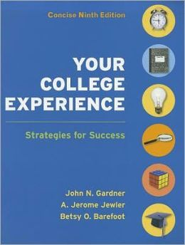 Your College Experience 9e Concise & VideoCentral: College Success