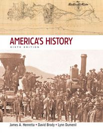 America's History, Combined Version (Volumes 1 & 2)