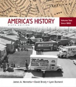 America's History: Volume 2: Since 1865