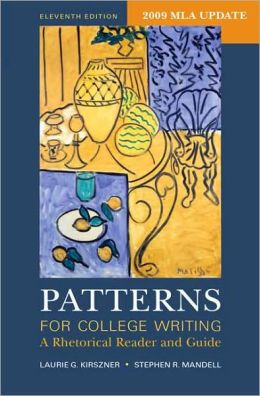 Patterns College Writing by Kirszner 13th Edition