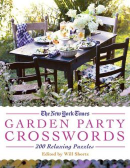 Garden Party Crossword Puzzles: 200 Relaxing Puzzles