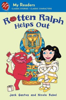 Rotten Ralph Helps Out (Rotten Ralph Rotten Readers Series)