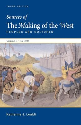Sources of Making of the West with Concise Correlation, Volume 1