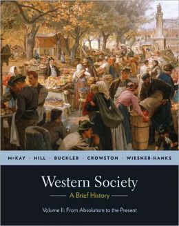 Western Society: A Brief History - From Absolutism to Present