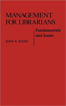 Management For Librarians