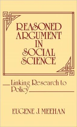 Reasoned Argument In Social Science