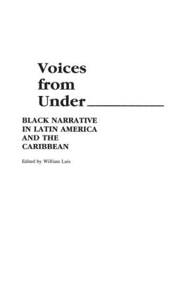 Voices From Under: Black Narrative in Latin America and the Caribbean