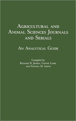 Agricultural And Animal Sciences Journals And Serials