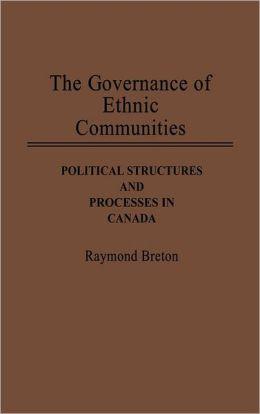The Governance Of Ethnic Communities