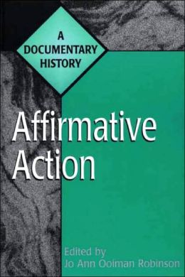 Affirmative Action: A Documentary History