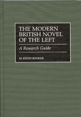 Modern British Novel Of The Left