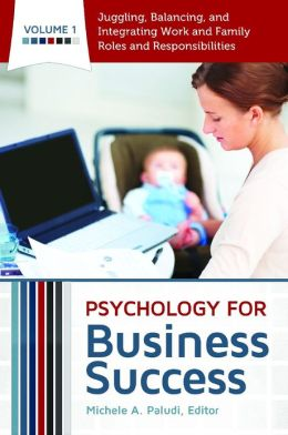 Psychology for Business Success [4 volumes]