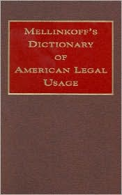 Dictionary of American Legal Usage
