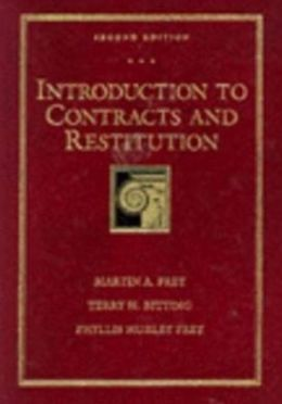 Introduction to Contracts and Restitution