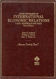Cases of Legal Problems of International Economic Relations: Cases, Materials, and Text on the National and International Regulation of