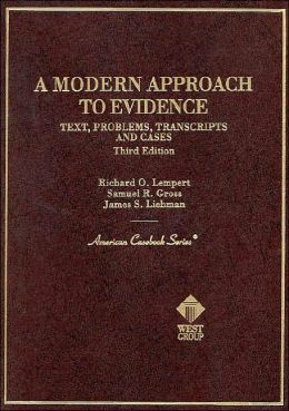 A\Modern Approach to Evidence