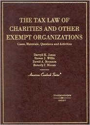 The\Tax Law of Charities and Other Exempt Organization, Cases, Materials, Questions and Activities