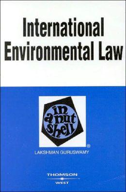 International Environmental Law in a Nutshell