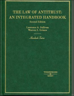 The\Law of Antitrust:An Integrated Handbook