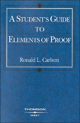 A\Student's Guide to Elements of Proof 2004