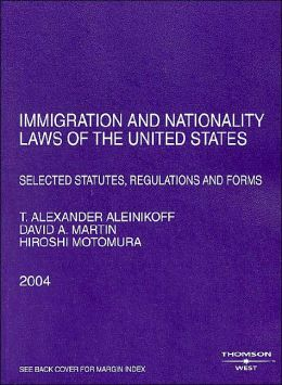 Immigration and Nationality Laws of the Us