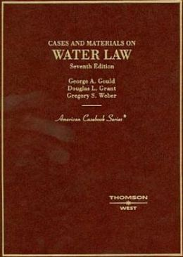 Cases and Materials on Water Law
