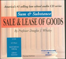 CAS Sum and Substance Audio on Sale and Lease of Goods