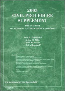 Civil Procedure Supplement