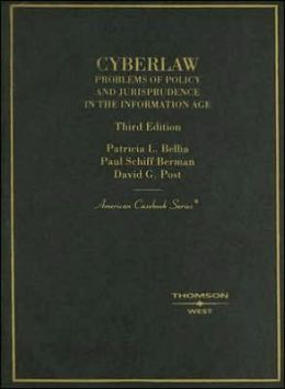 Cyberlaw:Problems of Policy and Jurisprudence in the Information Age
