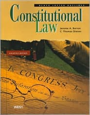 Black Letter Outline on Constitutional Law, 8th