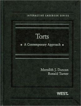 Torts:A Contemporary Approach