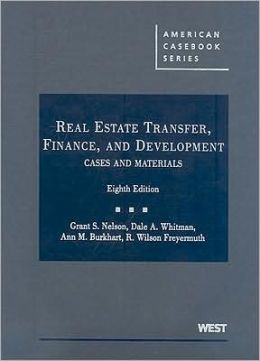 Real Estate Transfer, Finance, and Development