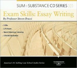 Sum and Substance Audio on Exam Skills:Essay Writing (CD)
