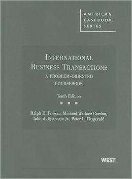 International Business Transactions:A Problem-Oriented Coursebook