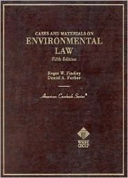 Cases and Materials on Environmental Law