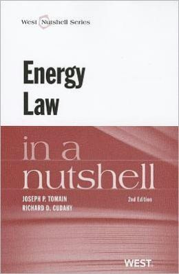 Tomain and Cudahy's Energy Law in a Nutshell, 2d