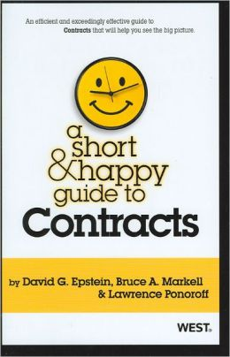 A\Short and Happy Guide to Contracts