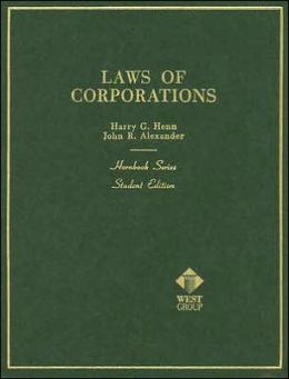 Laws of Corporations:And Other Business Enterprises