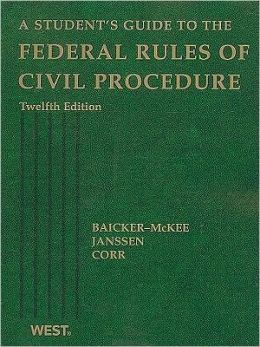 A\Student's Guide to the Federal Rules of Civil Procedure, 12th Edition